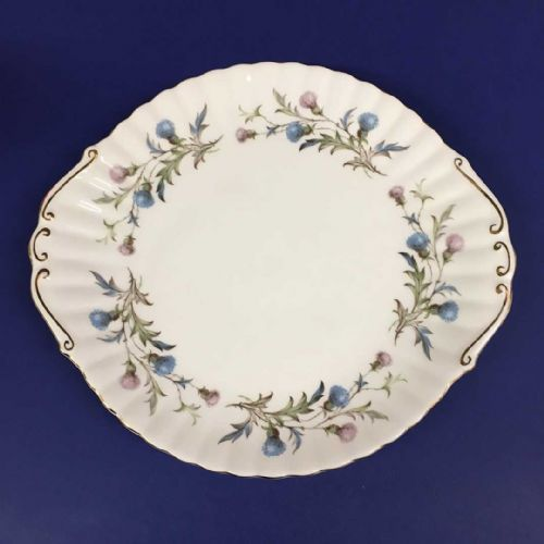 Royal Albert - Brigadoon - Bread Cake Sandwich Plate